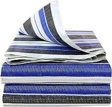 Wang Heavy Duty dekzeil Drie-kleuren plastic dekzeil 100% waterdicht Verdikking en slijtvastheid Grondtentdekking Outdoor ...