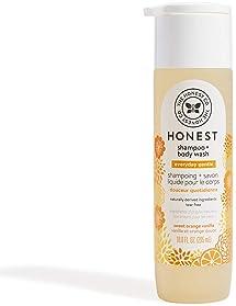 The Honest Company Perfectly Gentle Sweet Orange Vanilla Shampoo + Body Wash, Tear-Free Baby Shampoo with Naturally D...