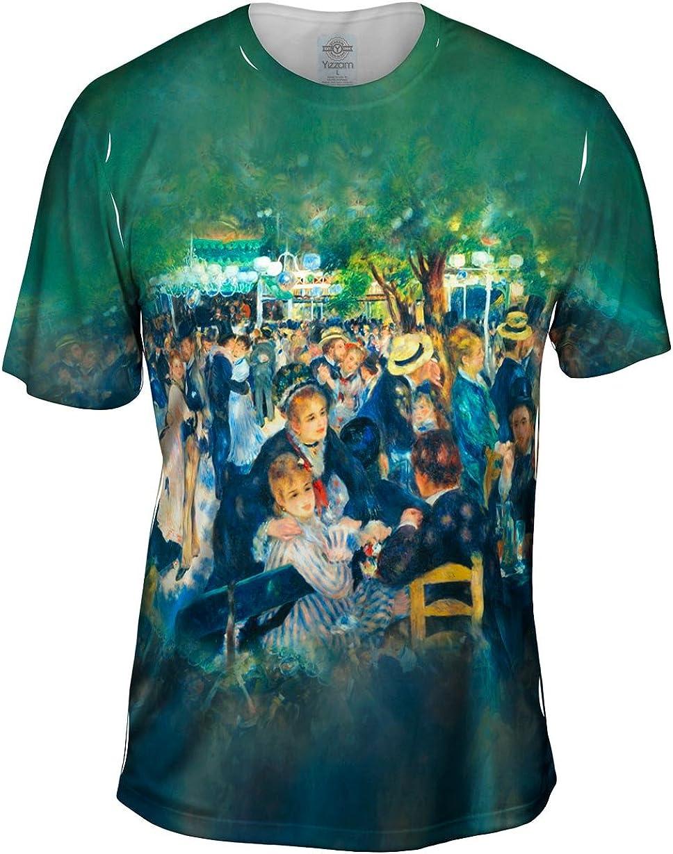 Yizzam- Pierre Auguste Dealing Rare full price reduction Renoir - Le Gal.-Tshirt- Moulin De La Men