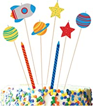 Amscan Blast Off Birthday Candle Set 8 Pieces