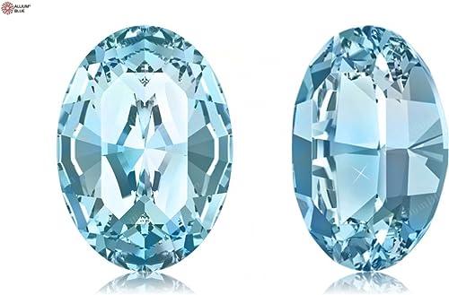 Envío y cambio gratis. SWAROVSKI Crystals Crystals Crystals Elements Fancy Stones 4128 MM14,0X 10,0 F - Aquamarine F (202)  oferta de tienda
