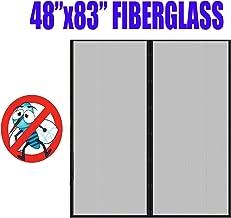 Fiberglass Mesh Magnetic Screen Door 48