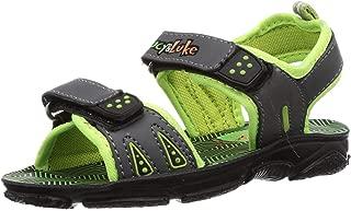 Lucy & Luke by Liberty Boy's Darrell-3 P.Green Outdoor Sandals-10 UK (28 EU) (11 Kids US) (2156031143)