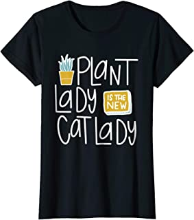 Womens Plant Lady Is the New Cat Lady Shirt