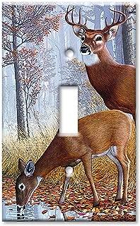 Art Plates - Deer Switch Plate - Single Toggle