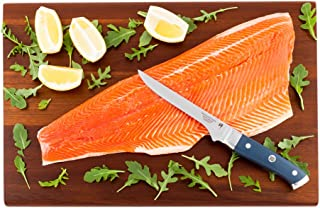 Restaurantware RWT0101 Sensei Blue - 6-inch Boning Knife - Durable Japanese VG-10 Steel - Professional Chef's Damascus Kit...