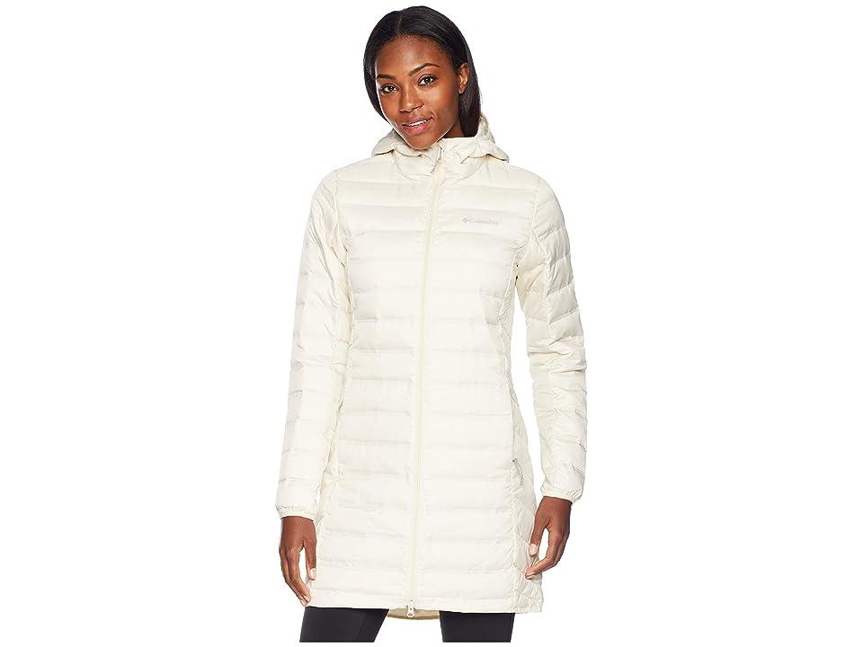 Columbia Lake 22 Long Hooded Jacket (Light Bisque) Women