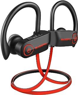 Bluetooth Headphones, BassPal TonePro U14 Wireless Sport Earphones Waterproof IPX7, w/Mic Richer Bass HD Stereo Sweatproof...