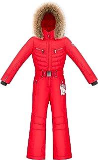 Poivre Blanc – Mono de esquí Overall 1031 Scarlet Red 5 niña – Rojo