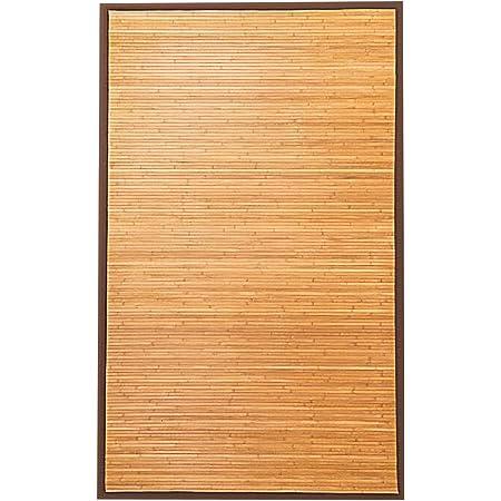 """Giantex 5'x8' Bamboo Area Rug Floor Carpet Natural Bamboo Wood Indoor 60"""" x 96"""" Area Rug"""