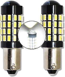 Posicion 2 x Bombillas 1 LED 1W SMD AZUL BA9S T4W H6W Coche interior.. 12V