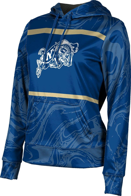 United States Naval Academy Girls' Pullover Hoodie, School Spirit Sweatshirt (Ripple)