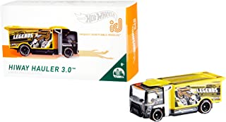 Hot Wheels id Vehicle HiWay Hauler 3.0 with Embedded NFC Chip, Uniquely Identifiable, 1:64 Scale, for Kids Ages 8 Years...