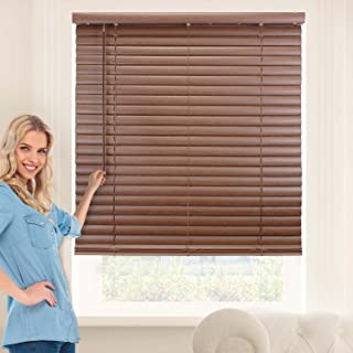Chicology Cordless 2-Inch Vinyl Mini Blinds Light Filtering, Darkening Perfect for Kitchen/Bedroom/Living Room/Office and More, 31