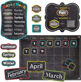 Creative Teaching Press Chalk It Up! Calendar Set Bulletin Board (Room Displays and..