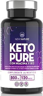 Keto Pure - Píldoras Dietéticas Keto para Hombres y Mujeres - 1 Mes