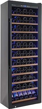 Wine Enthusiast Classic L 200 Bottle Wine Cellar - Freestanding Wine Refrigerator