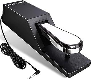 Universal Sustain Pedal,Heavy-Duty Electronic Keyboards Peda