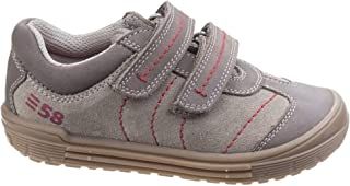 Hush Puppies Childrens/Boys Finn Touch Fastening Leather Shoes
