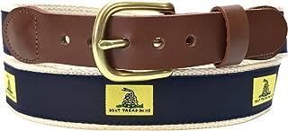 Leather Man Ltd Don't Tread on Me Belt