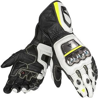 DAINESE Full Metal D1 Gloves (M, Black/White/Fluorescent-Yellow)