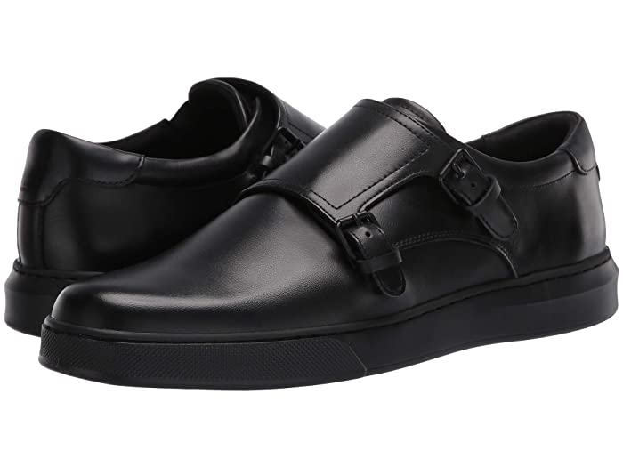 Steampunk Boots and Shoes for Men Kenneth Cole New York Liam Monk Black Mens Shoes $135.00 AT vintagedancer.com