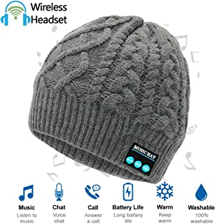 Upgraded Wireless Bluetooth Beanie Hat with Headphones...