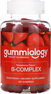 Gummiology B Complex Gummies, Strawberry Flavor, 100 Gummies
