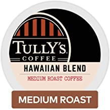 Tully's Coffee House Blend, Single Serve Coffee K Cup Pods for Keurig Brewers, Medium Roast, 32Count