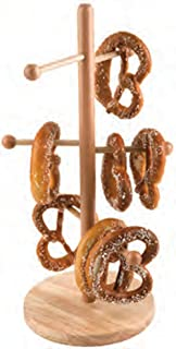 Paderno World Cuisine Beech Wood Pretzel/Sausage Stand