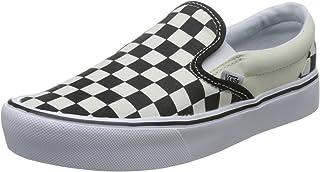 Vans Black/White Checkerboard Slip On Lite Sneakers
