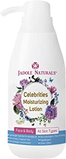 Jadole Naturals Celebrities Body Lotion Long Lasting 24 Hour Hydrating Moisturizer for All Skin Types, Nourishing for Sens...