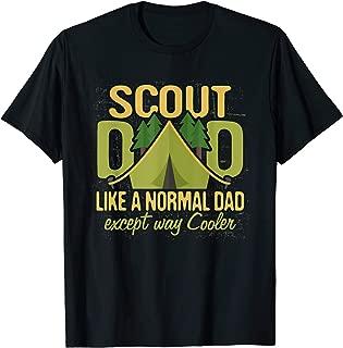 Scout Dad T Shirt Cub Leader Boy Camping Scouting Gift Men