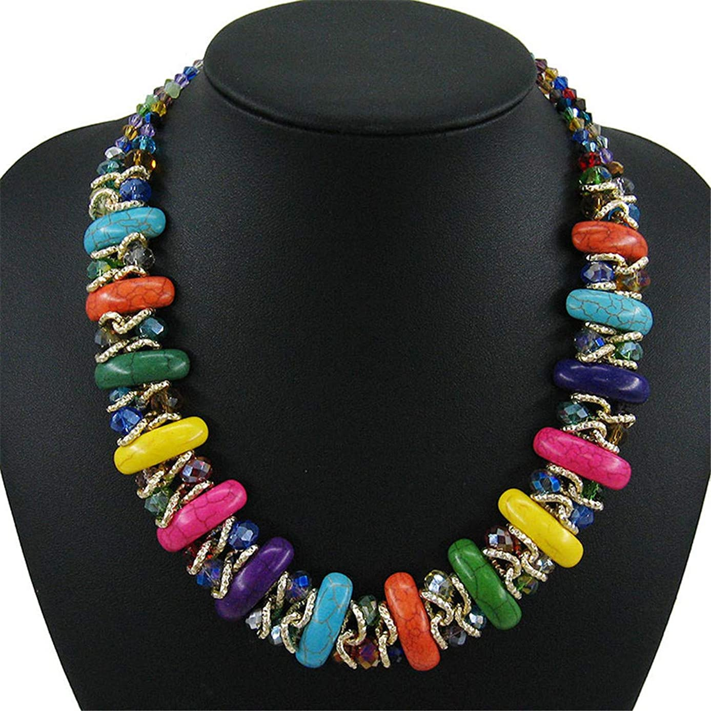 ZDHSQ Collier Femme Statement Necklace Fashion Women Collar Long Gold Chain Choker Necklaces & Pendants Jewelry Bijoux