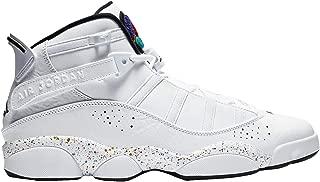 Nike Men's Jordan 6 Rings Leather Basketball Shoes