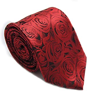 Trendy Men's Tie Necktie 100% Silk High-end Gift Box (Many Colors Available)