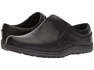Born Nigel Clog (Black Full Grain Leather) Men