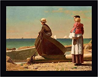 Dad's Coming (Detail) by Winslow Homer 16