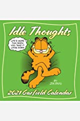 Garfield 2021 Wall Calendar: Idle Thoughts カレンダー