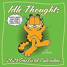 Garfield 2021 Wall Calendar: Idle Thoughts PDF