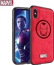 TinPlanet Marvel Avengers Endgame iPhone Xs Max Case, Iron Man (Red)