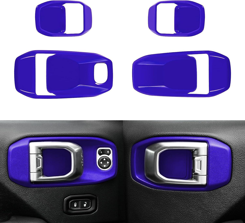 YOOWEE Large-scale sale Car Interior Door In a popularity Handles Cover Accessori Trim Bowl Decor