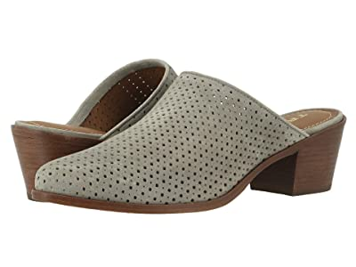 Trask Teresa Perf (Light Gray Oiled Suede) Women