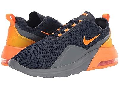 Nike Air Max Motion 2 (Obsidian/Total Orange) Men