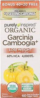 Purely Inspired, Organic Garcinia Cambogia Plus, 60 Veggie Tablets