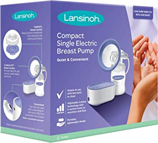 Lansinoh Compact Single Electric Breast Pump,