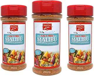 Amazing Taste SALT FREE Malibu Seasoning Shaker Bundle