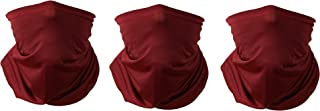 MASON & CO LA Red Cooling Neck Gaiter – Unisex Face and Neck Scarf – UV, Dust, Pollen Protection, Reusable, Made in USA, 3...