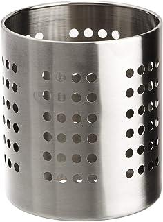 Zeller 2058021 Porte-Ustensile en Inox Argent 12 x 13 cm
