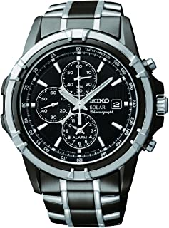 Seiko Men SSC143P-9 Year-Round Chronograph Solar Powered Multicolour Watch